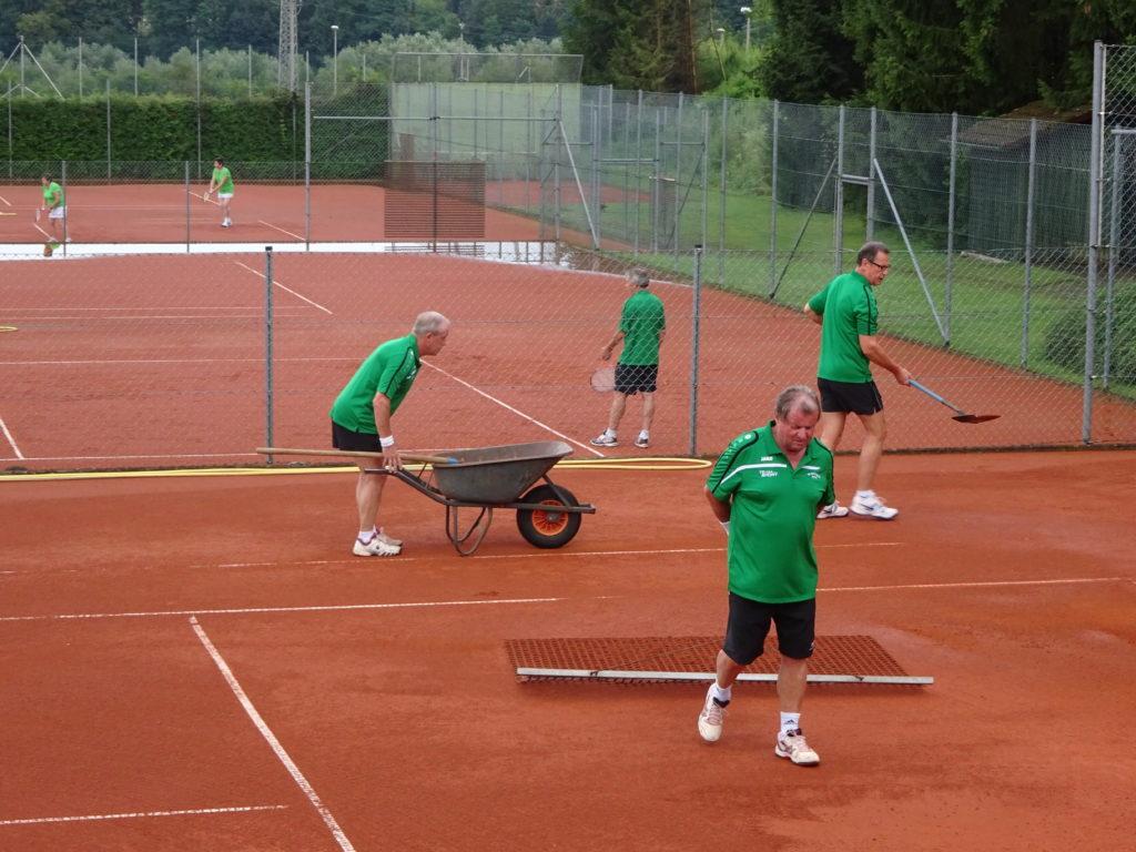 Grün Weiß Tennis